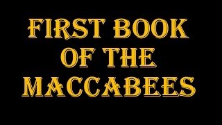 1st Book Of The Maccabees