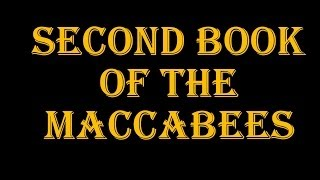 2nd Book Of The Maccabees