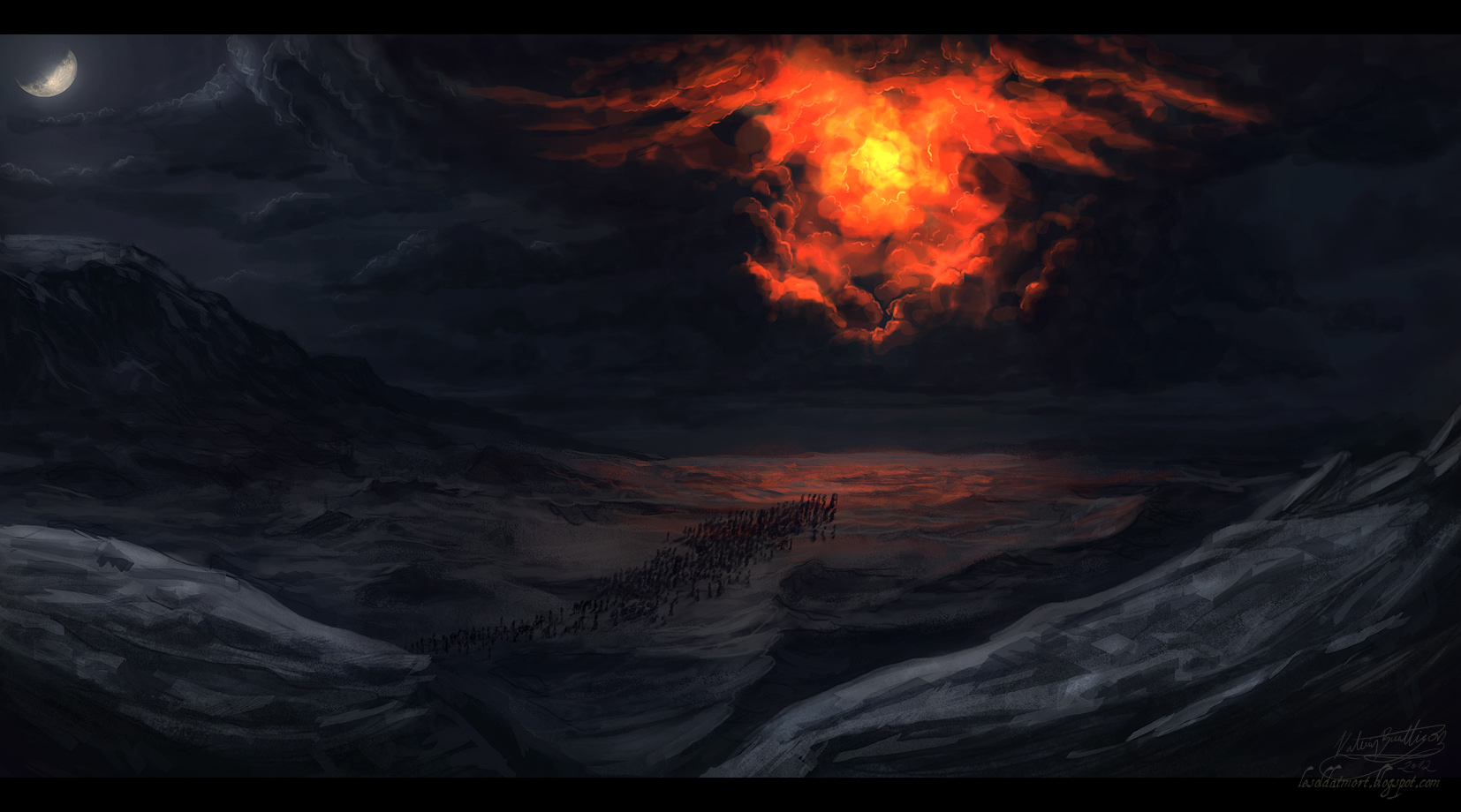 pillar of cloud and fire - 1199×667